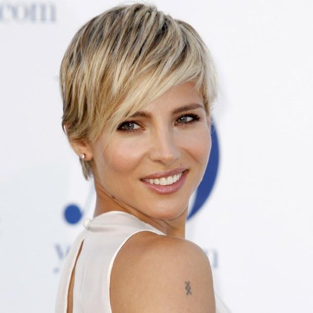 Ranking de las famosas españolas con pelo corto. Elsa pataky