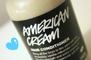 American Cream Hair Conditioner Lush