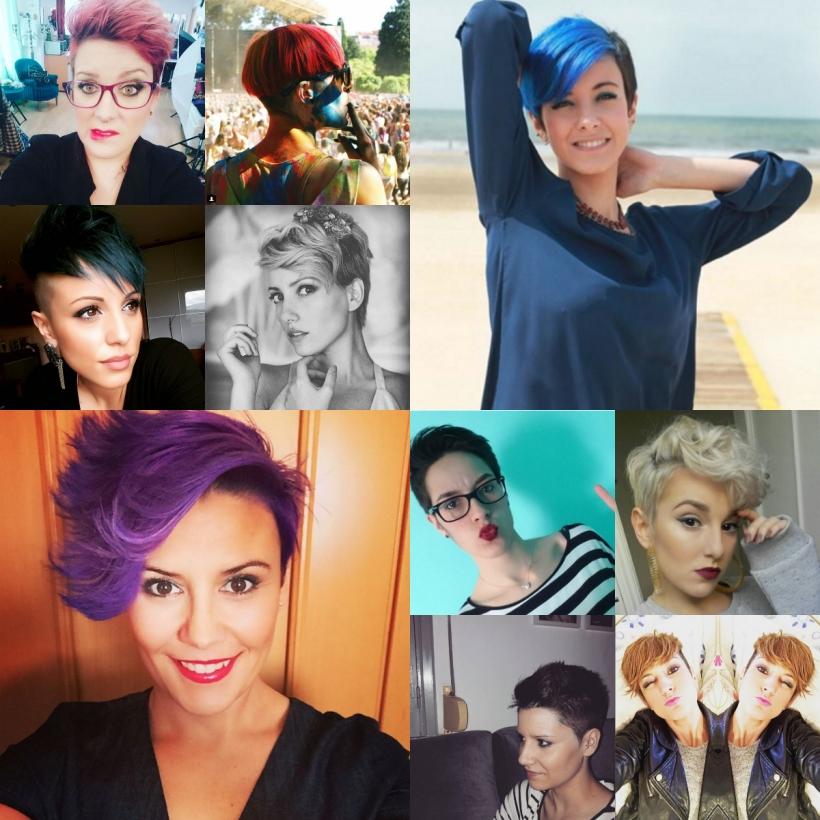 Chicas de cabello corto. Los diez mejores cortes del mes. ChicaPixie